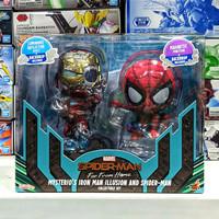 Cosbaby 768 Mysterio's Ironman Illusion & Spiderman