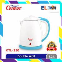 COSMOS kettle listrik 1,2 liter CTL 210/CTL210/teko pemanas air