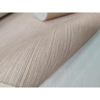 Wallpaper Vinyl Polos Berserat Gradari Cream Pink Bertekstur