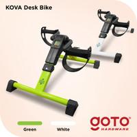 Kova Desk Bike Sepeda Statis Terapi Lutut Kaki Bawah Meja Kerja