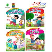 buku cerita anak bergambar : seri kalimat toyyibah bilingual