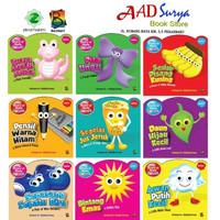 buku cerita anak bergambar : seri stori of many colour - bilingual