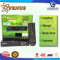Receiver Parabola Venus Yaris Mpeg4 C Ku Band FTA Free LNB Satelit TV