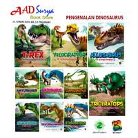 buku cerita anak; seri pengenalan dinosaurus