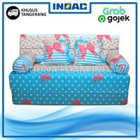 Sofa Bed Busa INOAC 200x145x15 cm Garansi 10th Khusus Tangerang