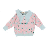 Cherry Cute Sailor Sweater - MOEJOE