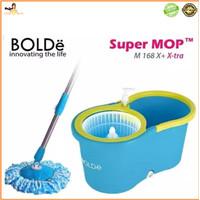 Alat Pel Super Mop BOLDe M-788X+ (Botol + Lubang Drainase) Original