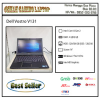 Dell Vostro V131 |Core i5 |Gen 2 |Camera - RAM 4-HDD 500