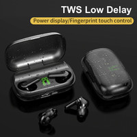 New XT01 TWS Headset Bluetooth Low Delay Sport Earphone Handsfree