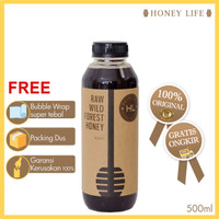 MADU ASLI HUTAN Honey Life   suku baduy  MADU MURNI FOREST HONEy 500ML