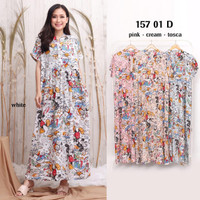 Daster cantik Maxie Homie Rayon(adem.lembut)all size fit to m.L.xL