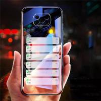 case Xiaomi Poco X3 NFC Case Transparan TPU Softcase