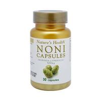 Natures Health NONI Capsules 500 mg Isi 30 Capsules BPOM ORIGINAL