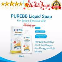 PUREBB Liquid Soap 80ml / sabun cair utk kulit sensitif bayi 80 ml