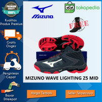 Sepatu volly Mizuno terbaru wave lightning z5 mid wlz5 terbaru 2020