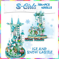 Lego Frozen Princess Disney S-Girls Brick Ice And Snow Castle Sy 5400
