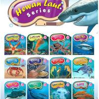 buku cerita anak bergambar : seri hewan laut ( bilingual )