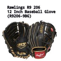 Rawlings R9 206 12 Baseball Softball Glove (R9206-9BG)