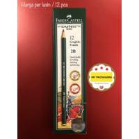 Pensil 2B Faber Castell - 12buah