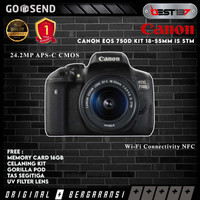 Canon EOS 750D Kit 18-55mm IS STM - FREE Accessories