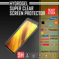 HYDROGEL ANTI GORES FOCO X3 NFC PREMIUM SUPER CLEAR QUALITY