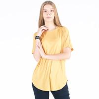 Kaos Lengan Pendek Wanita / Vershil Mustard Tee 12016P9MS - 10PM