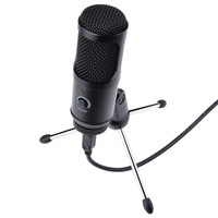 Microphone USB with Condenser UD-800 & Stand for PC Laptop Zoom Skype