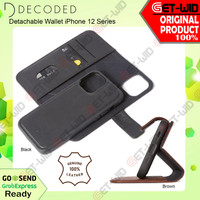 Case iPhone 12 Pro Max / 12 Mini / 12 Pro Decoded Detachable Wallet