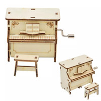 Piano Mini Music Box DIY Kotak Musik Kecil Hadiah Kado Unik Dekorasi