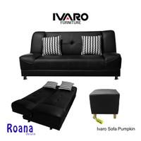 IVARO Sofa Bed Pumpkin Hitam