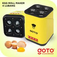 Goto PRO 4 Hole Egg Roll Maker Mesin Sostel Sosis Telur Listrik 4 Luba