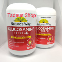 Natures Way Glucosamine Fish Oil 200 tablet kapsul