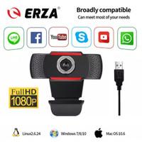 ERZA A1 Webcam Full HD 1080P With Microphone Web Camera Cam