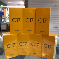 Realme c17 6/256 new garansi resmi realme 1tahun