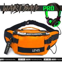 Tas Waistbag Pria Pro Level Pro Ala Fashion Korea Sling Bag Batam