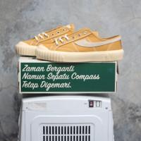 Sepatu Compass Gazelle 98 Vintage Low Mustard