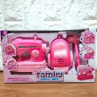 Mainan Anak Family Set House Hold Peralatan Rumah Tangga