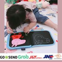 Mainan Edukasi Anak Perempuan 3 Tahun Balita Buku Gambar Warna Kuning