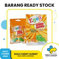 Egoji Chewy Gummy Vitamin Anak Kunyah Hisap 1 Box isi 5 sachet