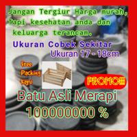 COBEK / COWET + ULEKAN - BATU ASLI MERAPI 100%