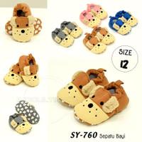 Sepatu bayi anti slip SY-760 sepatu Karakter Prewalker Alas Kaki Anak