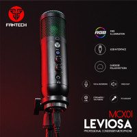 Fantech LEVIOSA MCX01 Condenser Microphone USB for PC Laptop Streaming