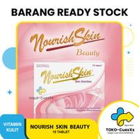 Nourish Skin Vitamin Kulit (15 tab) Atasi Flek hitam, Jerawat, Vit E