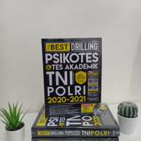 buku the best drilling psikotes TNI-Polri 2020-2021