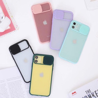 Case iPhone 7 8 Plus X XS XR Max 11 Pro Max Camera Protection Matte