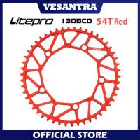 Litepro Chainring SELI 54T BCD 130 MERAH Ultralight Sepeda Lipat