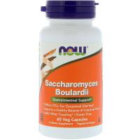 Now Foods Saccharomyces Boulardii Gastrointestinal Support 60 Veg Caps