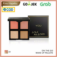 Kosmetik You On The Go Makeup Palette 4 in 1 Makeup Palette