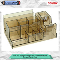 Desk Set Joyko DS-338 | Desk Organizer | Kotak Tempat Pensil Meja