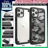 Case iPhone 12 Pro Max 12 Pro 12 Mini Ringke Fusion X AntiShock Casing